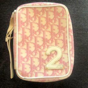 Dior Pouch Trotter Pink Monogram